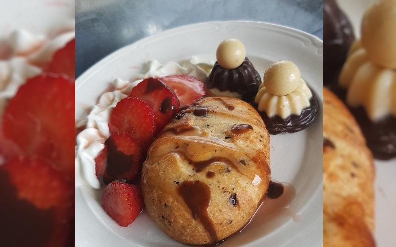 Chocoladebroodje met Aardbei | LowCarb-Rita.nl