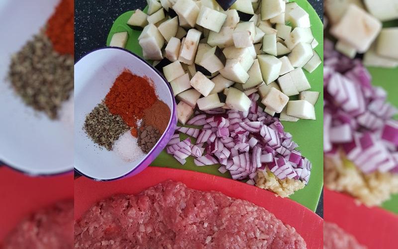 Ingrediënten Moussaka | LowCarb-Rita.nl